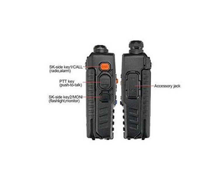 New walk talk Pofung Baofeng UV-5RA For Police Walkie Talkies Scanner Radio Vhf Uhf Dual Band Cb Ham Radio Transceiver 136-174 (6)