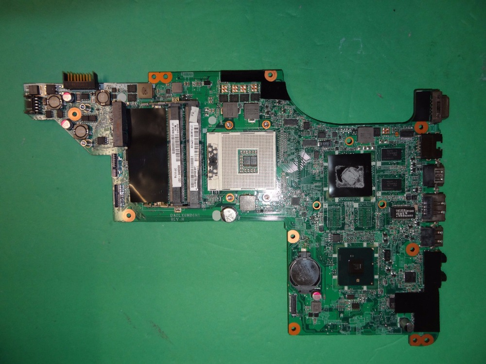 630985-001 FOR HP Pavilion DV7 DV7-4000 system board HM55 Laptop Motherboard 100%Tested+Free Shipping компьютерная клавиатура 100% hp dv7 dv7 4000 ru