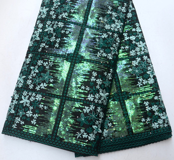 HOT SELLING!!! latest Quality African Bridals Wedding lace African Tradtional Wedding French net lace with sequins Lace