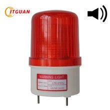 LTE-5103J светодиодный стробоскоп светильник сирена промышленный Высокое качество мигающий звуковой сигнал светильник с зуммером 90 дБ аварийная лампа