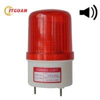 LTE-5103J светодио дный Strobe Light Сирена Промышленные высокое качество Мигает Звуковой сигнал свет с зуммером 90dB лампа аварийной ситуации