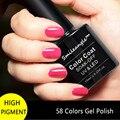 10 ML/Bottle Alta Calidad Empapa de Gel de Colores de Esmalte de Uñas Profesional LED UV Gel de Color Manicura en Casa Sin Chip smileangle marca