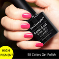 10ML/Bottle High Quality Soak Off Professional Gel Nail Polish Colors LED UV Gel Color Manicure at Home No Chip smileangle Brand