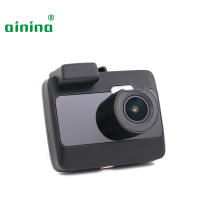 Car dvr camera Ainina 4K 2160P car dashcam with GPS +AHD1080P rear camera, IPS 2.0 super night vision car camera recorder