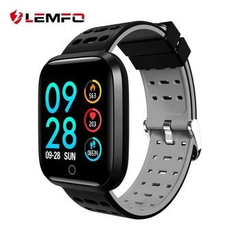 LEMFO Professional Sport Smart Watch IP67 Waterproof 2.5D Full Color Screen Heart Rate Blood Pressure Fitness Bracelet For Men