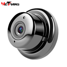Wetrans Wifi IP Camera CCTV HD 720P Wireless Security Camera Mini Smart Home Surveillance P2P Wide Angle 6LED Night Vision Audio