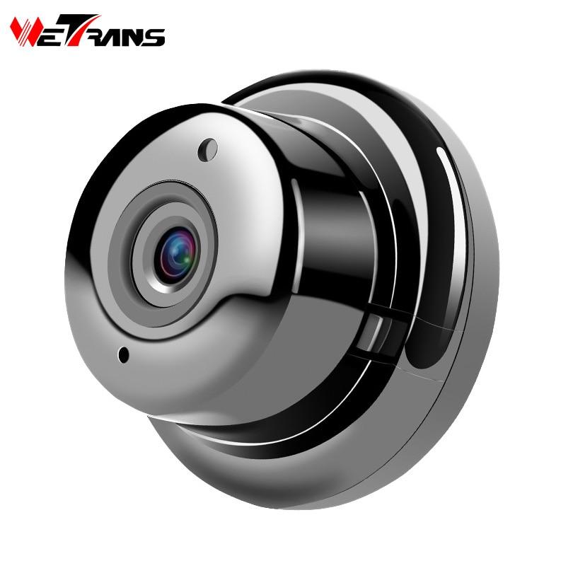 Wetrans Wifi IP Kamera CCTV HD 720 p Wireless Security Kamera Mini Smart Home Überwachung P2P Weitwinkel 6LED Nacht vision Audio