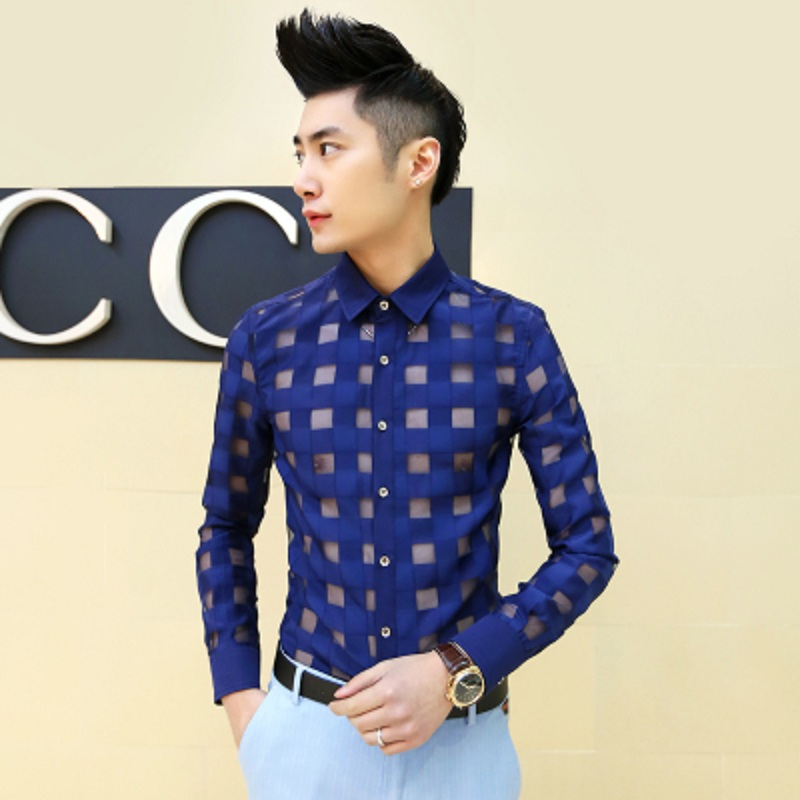 Aliexpress.com : Buy Mens See Through Shirts 2016 New Arrival ...