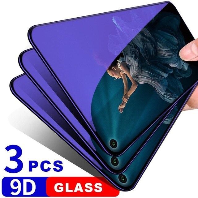9D Vetro Temperato per Huawei P30 Lite Compagno di 20 Pro Protezione Dello Schermo di Vetro Per Huawei Honor 20 Pro 20i 10 lite 8x Vetro di Protezione