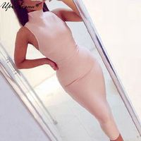2018 new women summer khaki red clubwear rayon bodycon party dresses white olive pink midi bandage dress dropshipping MD566