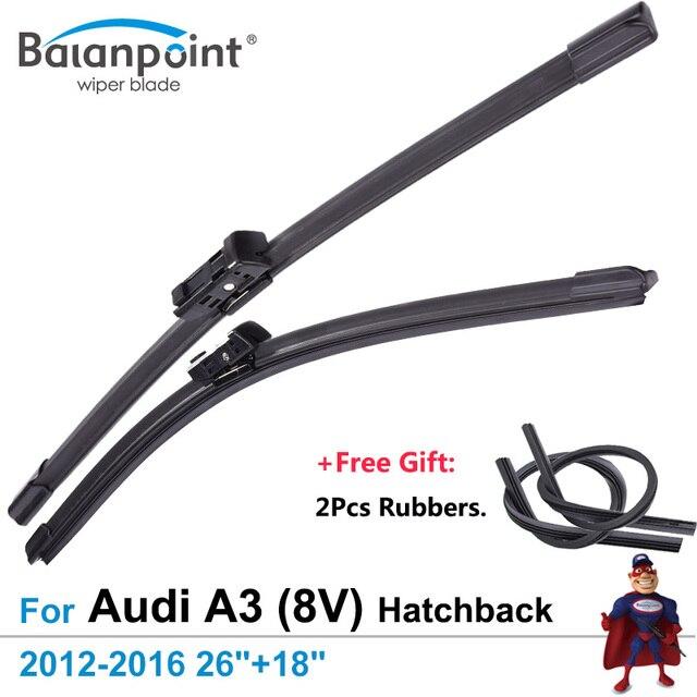 2pcs wiper blades 2pcs free rubbers for audi a3 8v hatchback rh aliexpress com Audi A3 Service Manual Audi A3 Service Manual
