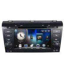 Free Ship Car DVD GPS Navigation System for Mazda 3 2004 2005 2006 2007 2008 2009 SD USB RDS Phonebook Bluetooth Handsfree