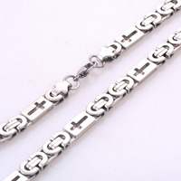 Width 8.5mm Stainless Steel Men Chain High Quality 316L Stainless Steel Punk Statement Swag Necklace Chain Men Jewelry HY004