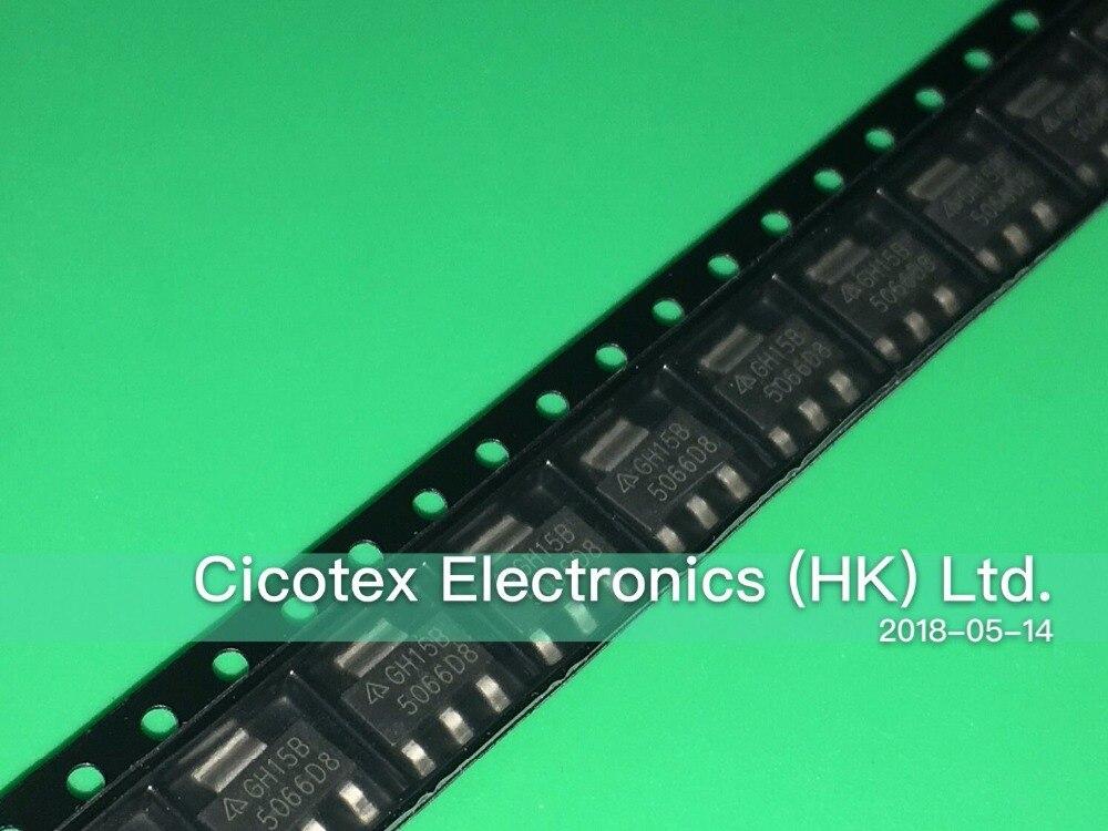 50PCS/LOT AZ1117CH-ADJTRG1 SOT-223 GH15B IC REG LIN POS ADJ 800MA SOT223