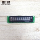 E&M 9*7 bit VFD Digital Number Screen Panel SCM Vacuum Fluorescent serial port Display Graphical LCD Module