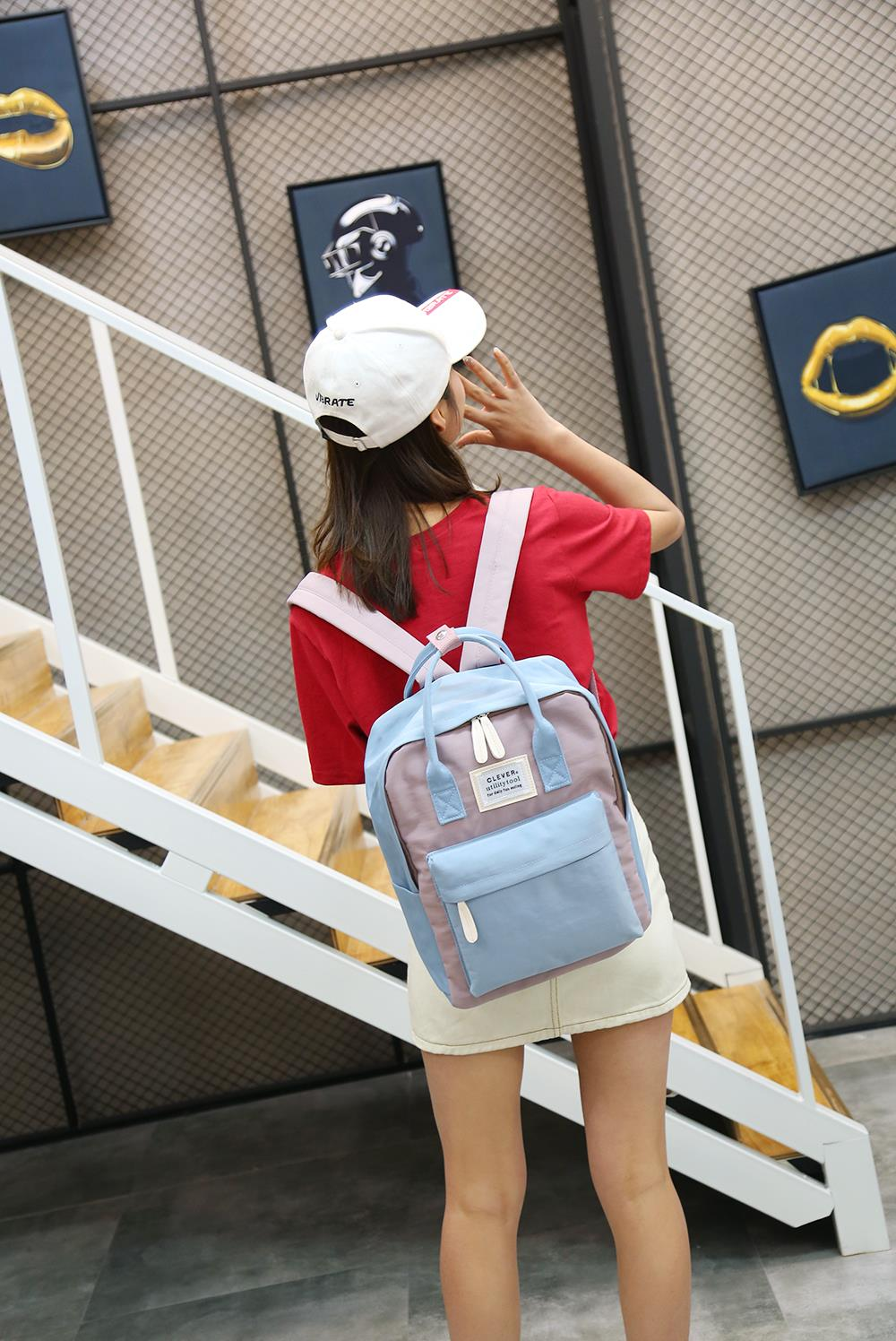 HTB1Q5 JhZuYBuNkSmRyq6AA3pXaJ Multifunction women backpack fashion youth korean style shoulder bag laptop backpack schoolbags for teenager girls boys travel