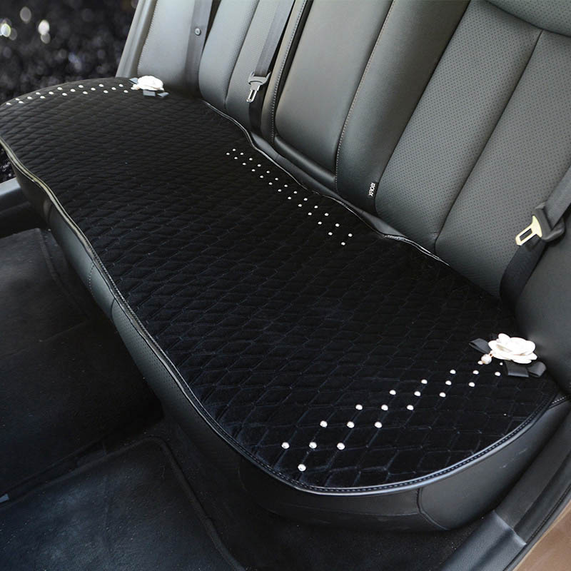 Universal-car-seat-covers-cute-diamond-car-interior-accessories-cushion-camellia-flower-styling-winter-plush-car-pad-2