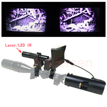 Hot Infrared Laser and