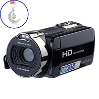 HDV 312P HD Digital Photo Camera 16X 24MP 720P Professional Digital Camcorders 2.7 inch TFT Rotation Screen with LED Fill Light