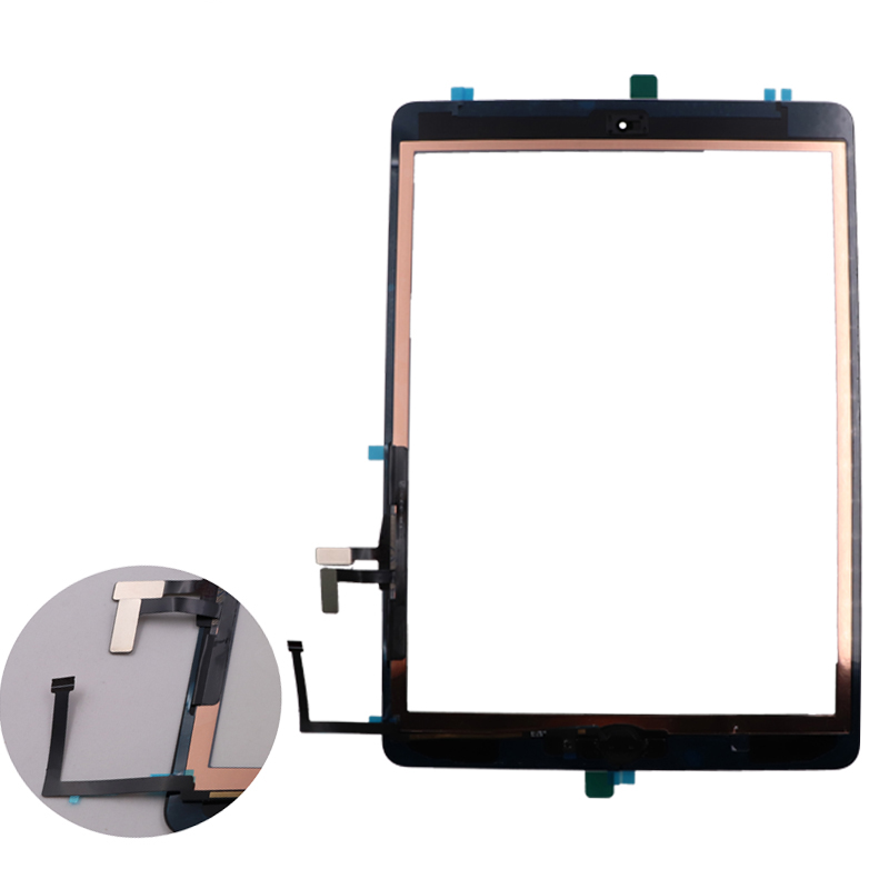 Original Touch screen For iPad 5 A1474 A1475 A1476 with Home Button Adhesive in Tablet LCDs Panels from Computer Office