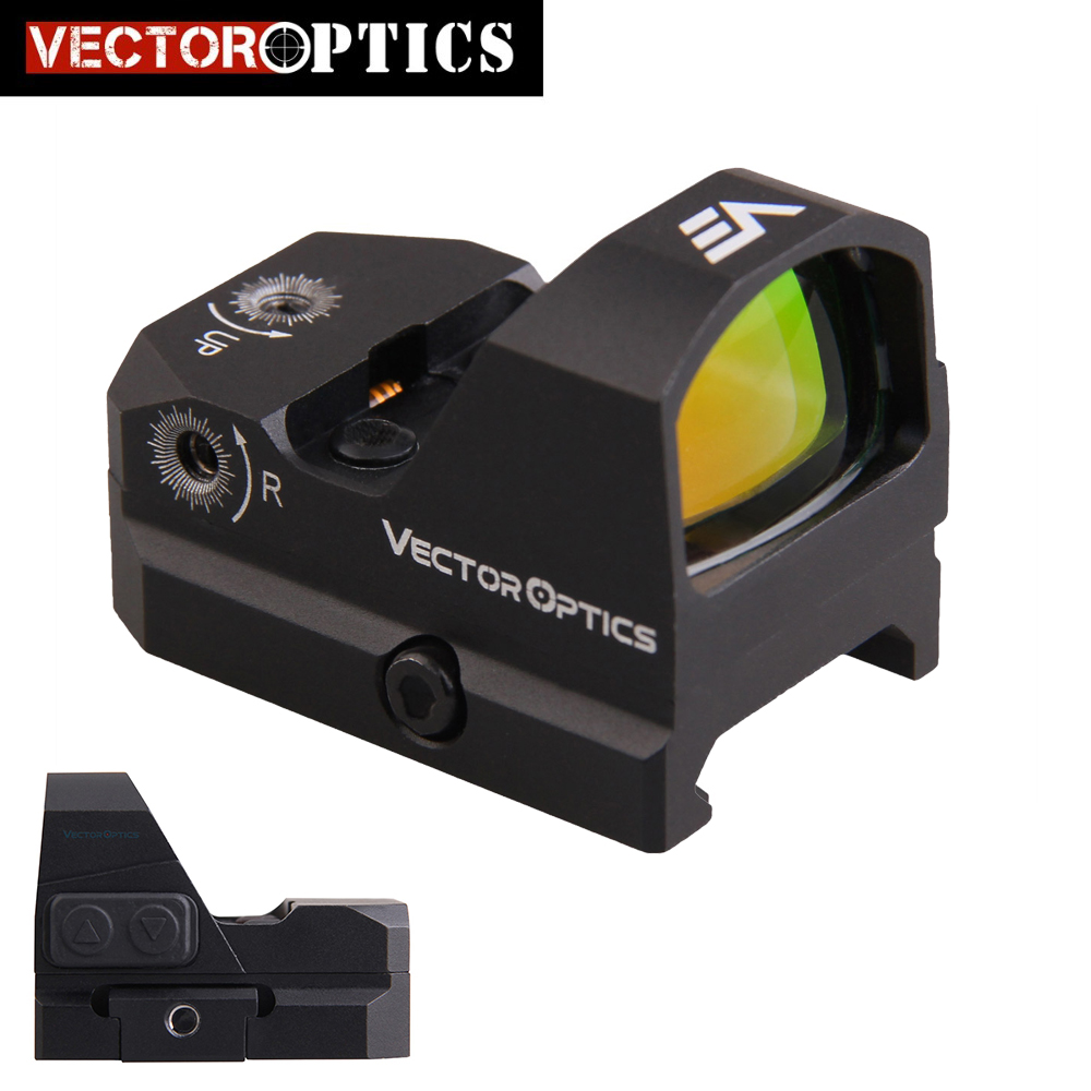 Vector Optics Gen2 FuryII AR15 M4 AK47 Pistol Red Dot Scope 9mm Red Dot Sight With Water Proof Fit 21mm Picatinny GLOCK 17 19