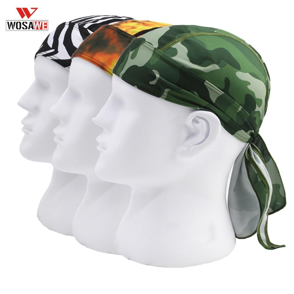 WOSAWE Helmet Inner Cap Summer Balaclava Mask Quick Dry Anti-UV Motorcycle Cap Face Mask Headscarf Motocross Cagoule Visage