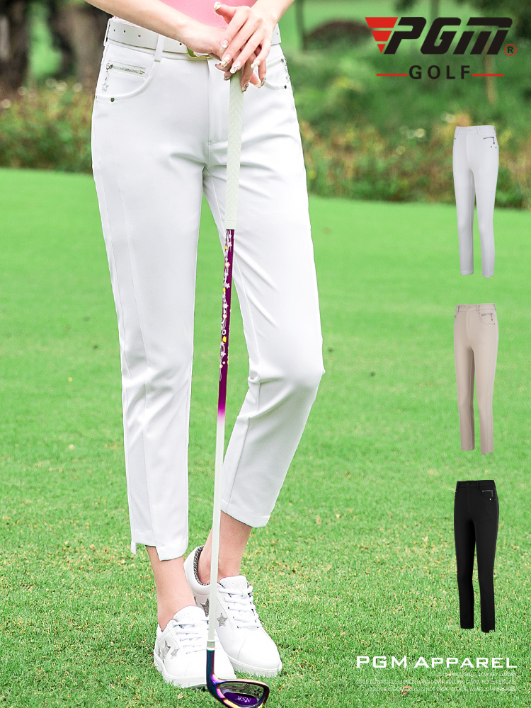 New Professional Golf Clothing Ladies Brand Sports Casual Clothes Summer Short Sleeve Women Slim Long 9 Pants 2019 High QualityNew Professional Golf Clothing Ladies Brand Sports Casual Clothes Summer Short Sleeve Women Slim Long 9 Pants 2019 High Quality