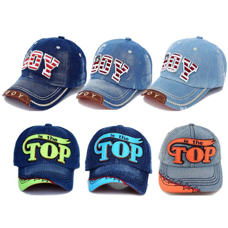 cc33fe57 8 Colors Boys Baseball Cap Summer Baby Hat Kids Children Letter Snapback Caps  Boy Jean Denim Cap Sun Hats baby boy baseball cap Product Details: