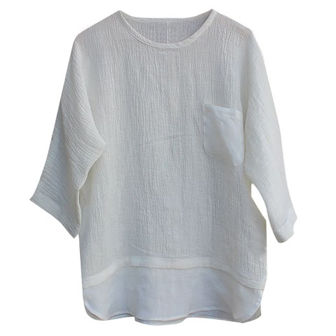 JAYCOSIN shirts Men summer Linen Patchwork blouses fitness Seven-Minute Sleeve Solid shirt Loose Blouse tops Tee streetwear 426 Lahore