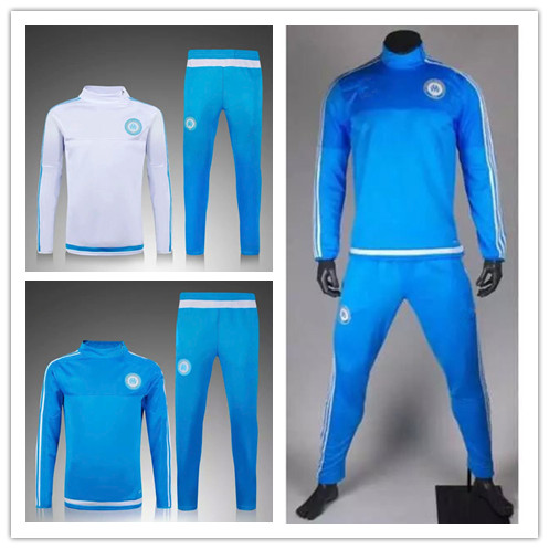 28a0e594f9d62 Top quality soccer tracksuit survetement football 2016 training suit  chandal football jogging skinny 15/16 football sweater pant