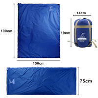 Inflatable Lazy Bag Outdoor Nylon Splicing Sleeping Bag Ultra Light Portable Camping Hiking Bags For Sleeping