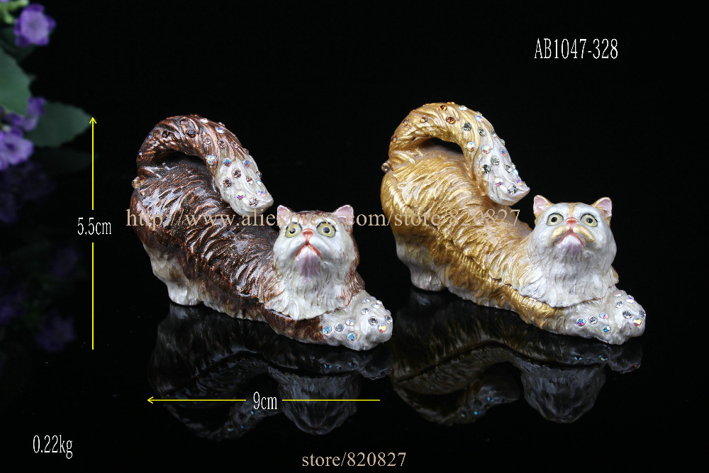 Pewter Cat Ring Holder / Trinket Box Cat Bejeweled Trinket Box Kats Jumping Cats Trinket Box casio mtp 1308sg 7a