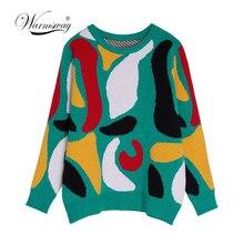 pulowery sweter Jesień z