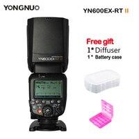 Светодиодная лампа для видеосъемки YONGNUO YN600EX RT II Вспышка Speedlite 2,4 г Беспроводной вспышка для фотокамер Speedlite HSS 1/8000 s Master ttl вспышка для Canon DSLR Ка