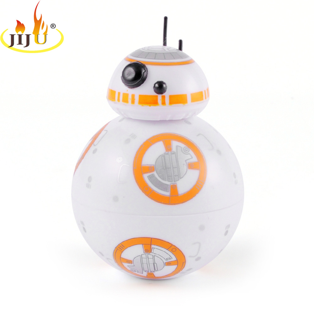 JIJU Star Wars BB-8 Droid 3 Layers Herb Grinder With Gift Box Zinc Alloy Tooth Tobacco Grinder Weed Smoking Accessories JL-468J