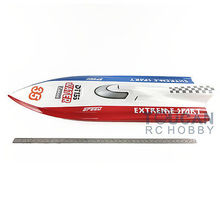 53″ DT135 Fiber Glass Gas Racing RC Boat KIT Prepainted Bare Hull Only Vee Boat