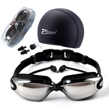 ecb84575e87 Myopia Swimming Goggles HD shortsighted prescription glasses Acetate  Spectacles plating lens adult swim goggles pools swiming