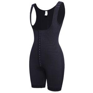 Image 5 - אופנה נשים Colombianas הודעה ניתוח מלא גוף Shaper גוף חליפת Powernet מחוך מותן Cincher מאמן Shapewear