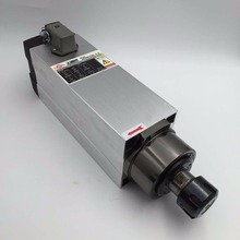 CNC Spindle Motor 1.5KW Air-cooled ER20 High Speed 18000rpm AC380V for Woodworking Lathe Machine GDZ93*82-1.5