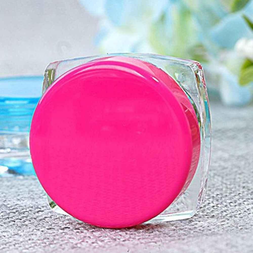 ISKYBOB Hot Koop Kleine Clear Plastic Monster Container Voor Meisjes Make up Mini Fles Pot Potten Cosmetische Gereedschap
