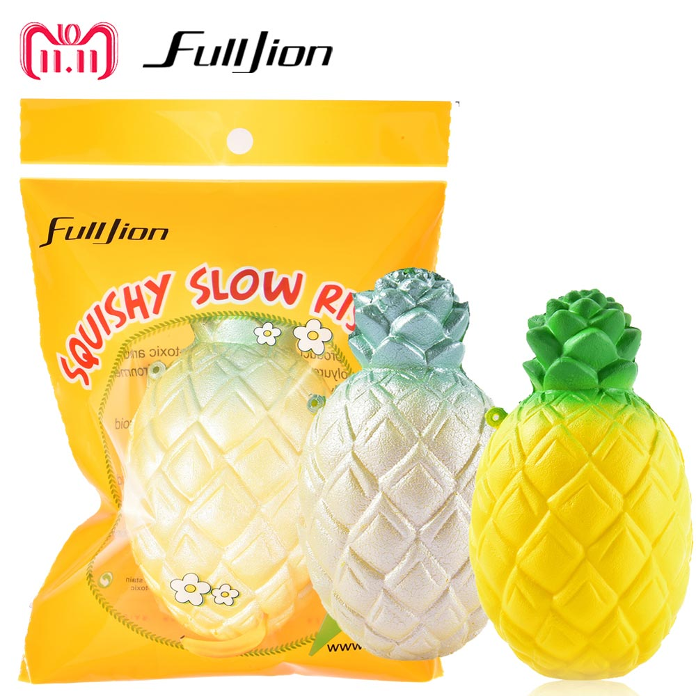 Useful Simulation Pineapple Office Pressure Stress Reliever Squeeze Toys Squishy Anti Stress Funny Gadget Interesting Toys Decoration Welding Helmets