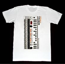 все цены на Roland 909 Drum Machine - T-shirt  Vintage Moog Synthesizer Korg Arp Mod T Shirt Mens Fashion Men Basic Models онлайн