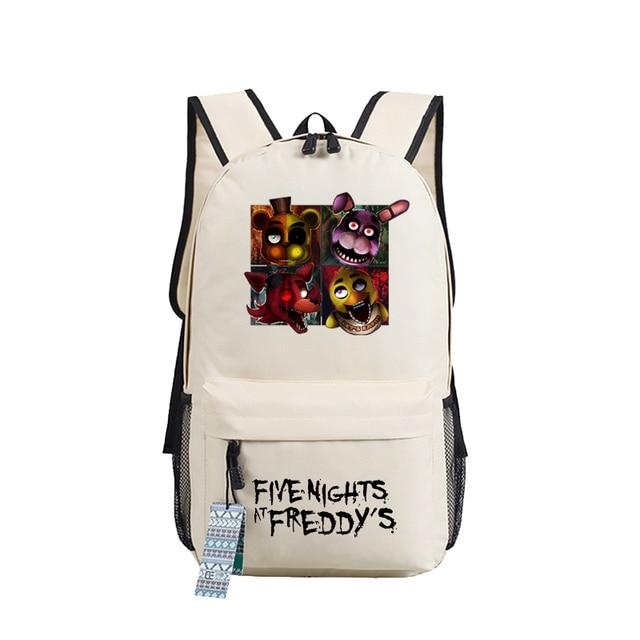 (16 Types) 2016 Five Nights at Freddy's School Bag For Teenagers Girls Backpacks Oxford Mochila Escolar Shoulder Bag Travel Bag