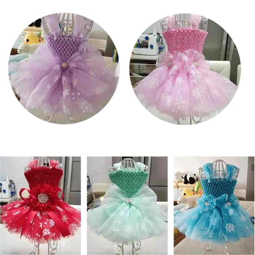 27cmx10y Wedding Snowflake Tulle Roll Knit Sewing Mesh Fabric Diy Tutu Skirt Organza Birthday Party Christmas New Year Supplies