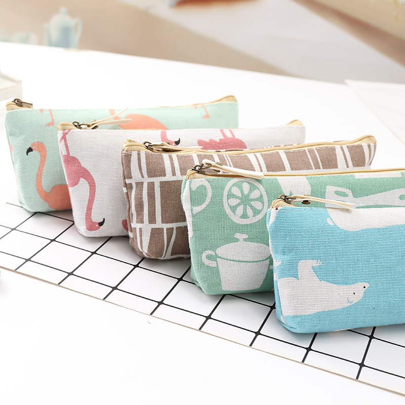 Casual Travel Cosmetic Bag Women Zipper Makeup Bag Organizer Storage Pouch Toiletry Beauty Wash Kit Bags School Pencil Case