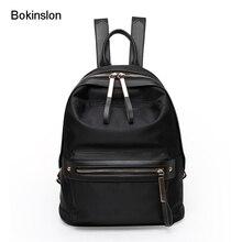 Bokinslon Для женщин Рюкзаки Оксфорд Повседневное Обувь для девочек путешествие рюкзак модные однотонные Цвет простые женские Сумки