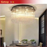 Modern Luxury LED Crystal Ceiling Lamp Round Crystal Lamp For Living Room Restaurant Bedroom Crystal Ceiling