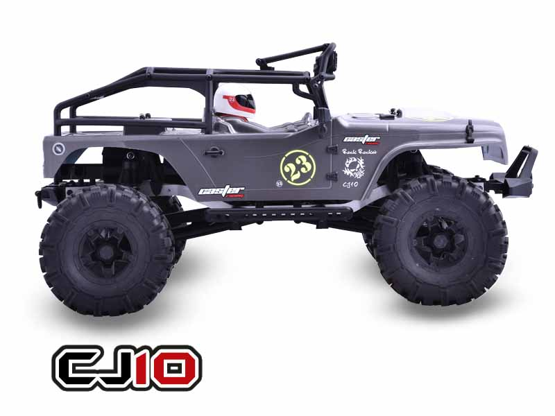 1:10 Scale Castle CJ10-16 4WD climbing Car jeep High speed electronics remote control Monster Truck,rc racing cars rc car xtra speed 1 10 nylon angry eyes grill body for 1 10 scale models jeep wrangler body xs 59758 scx10 jeep climbing cars