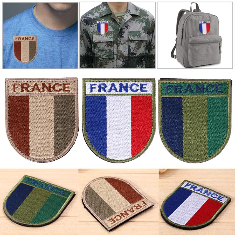 France French Large Patch Patches Sew On Flag Patch Badge Sports Clothes