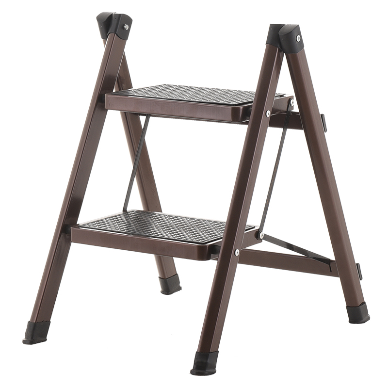 Household Floding Stool Two Step Ladder Kitchen Step Stools & Step Ladders Multi-functional Anti- Slip Little Folding Ladders цены